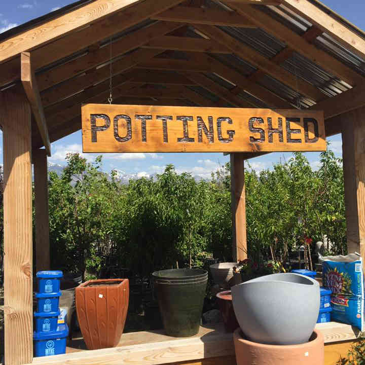 Riverton Utah Potted Plant Station